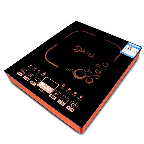 Induktionskochfeld, Haushalt Hohe Geschwindigkeit Großer Induktionsherd, 3000W Intelligente Touchscreen Hohe Leistung, Schwarz Mikrokristallinem Panel