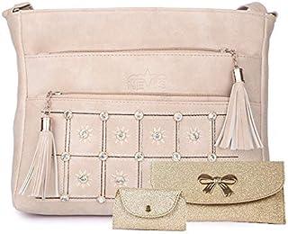 Nevis Women Crossbody/Sling Bag (Pack Of 3)