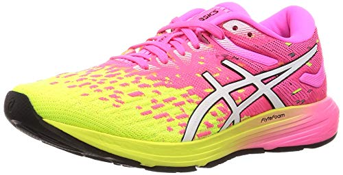 Asics Dynaflyte 4, Zapatillas de Running Mujer, Rosa (Hot Pink/White 700), 41.5 EU
