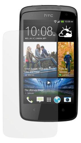 dipos I 2X Schutzfolie matt kompatibel mit HTC Desire 500 Folie Bildschirmschutzfolie