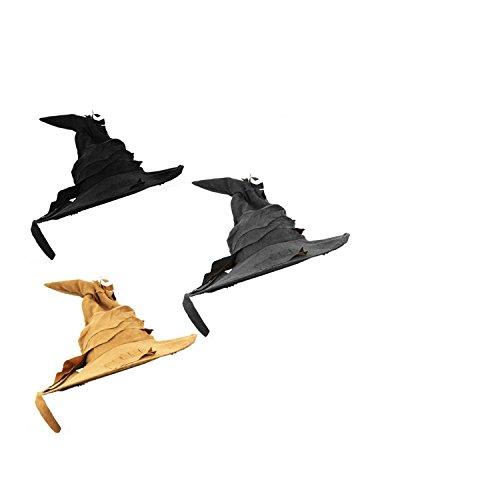Zauberer Hut IN 3 4 VERSCHIEDENEN STÜCKZAHLEN- SCHWARZ-BRAUN ODER GRAU= VON ILOVEFANCYDRESS=TOLLES ZUBEHÖR FÜR DIE MAGISCHE VERKLEIDUNG = 1 Grauer Hut