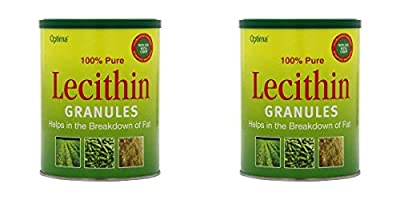 (2 PACK) - Optima Lecithin Granules | 250g | 2 PACK - SUPER SAVER - SAVE MONEY