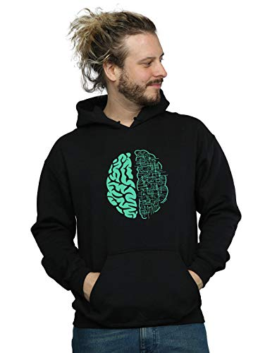 Absolute Cult Drewbacca Herren Electric Brain Kapuzenpullover Schwarz XX-Large
