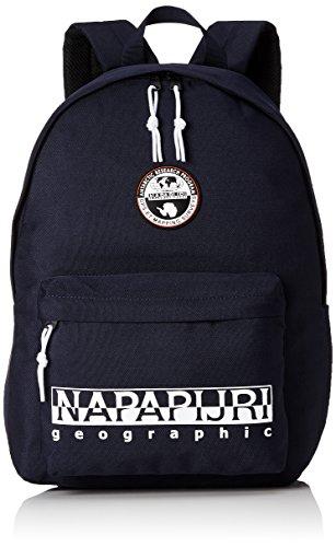 Napapijri - Happy Day Pack, Bolsos bandolera Unisex adulto, Blau (Blu Marine), 11x41x30 cm (B x H T)