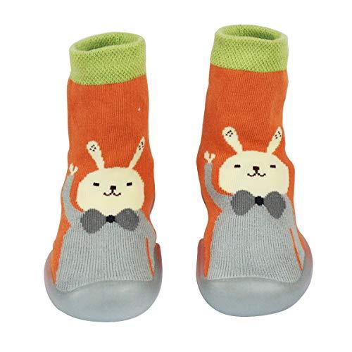 Hinrichsen & Co. Zapatillas para aprender a andar, para niños y niñas, zapatillas para bebés de 6 meses a 24 meses., color Multicolor, talla 6-12 meses