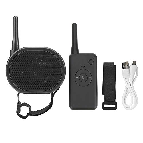 Cocosity Drone Accessory Black Megaphone Clear Sound Plastic for Outdoor