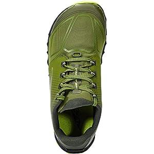 ALTRA Men's AL0A4VQB Superior 4.5 Trail Running Shoe, Green/Lime - 12 M US