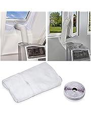 Raamafdichting voor mobiele airconditioners, AirLock, geschikt voor elk airconditioner en alle slangmaten.