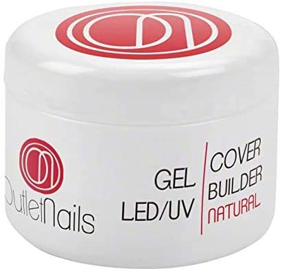 UV Gel Cover Builder Natural 15ml UV/LED | Gel para uñas | Outlet Nails