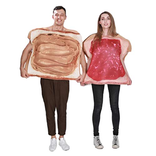 Couples Peanut Butter and Jelly Costume Adult