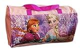 Frozen Die Eiskönigin Anna ELSA Sporttasche Reisetasche Schultertasche rosa pink (rosa)