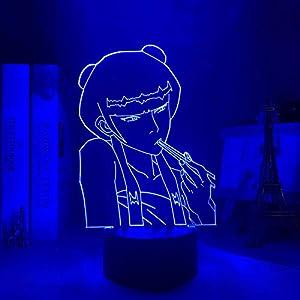 3D Night Light for Kids,Avatar Last Airbender Zuko Lamp for Home Decor Led Avatar Bedroom Decor Light Mai for Birthday/Xmas Gift