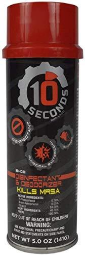 10 Seconds Shoe Disinfectant & Deodorizer 5 Ounces