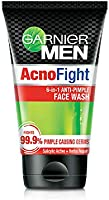 Garnier Men Acno Fight Anti-Pimple Facewash for Acne Prone Skin,