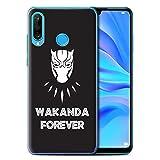 eSwish Phone - Carcasa para teléfono móvil, diseño de Panal Wakanda Pour Toujours Huawei P30 Lite 2019