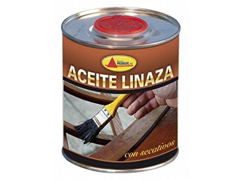 PROMADE - Aceite linaza Cocido 100% Puro 750 ml