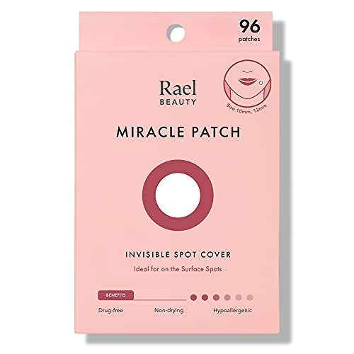 Rael de acné hidrocoloideo parche de curación (invisible, 96 Count)