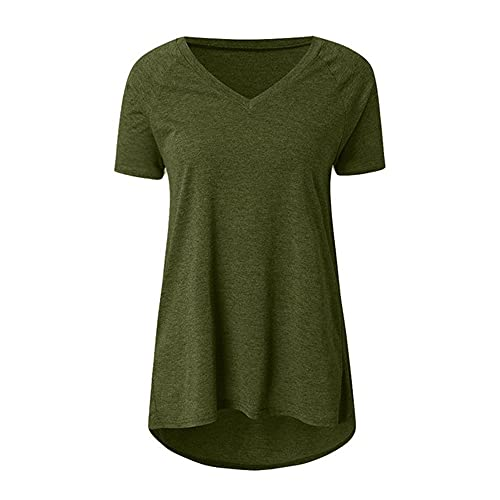Camiseta de manga corta para mujer, talla de Nek Sht