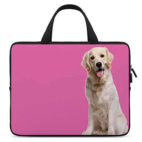 Universal Laptop Computer Tablet,Case,Cover for Apple/MacBook/HP/Acer/Asus/Dell/Lenovo/Samsung,Laptop Sleeve,Color for Dog Mammal Golden Retriever Carnivore,13inch