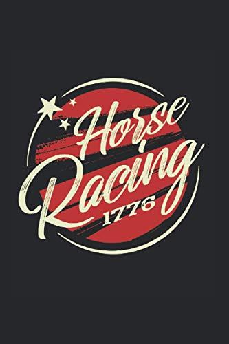 Las carreras de caballos: Din A5 Cuaderno ecuestre Regalo de carreras de caballos con páginas 120