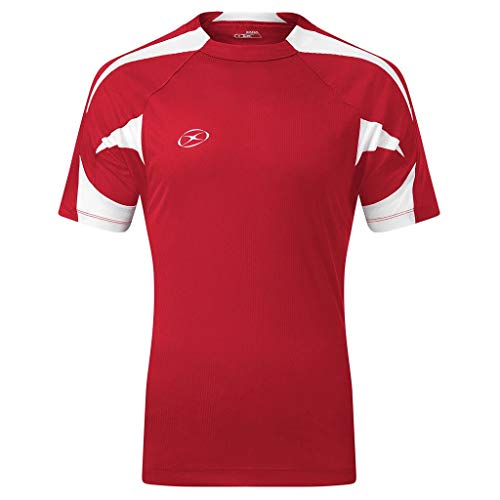 Anfield Soccer Jersey - Adult X-Large, Red/White