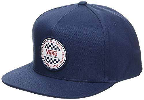 Vans OG Checker Snapback Gorra de béisbol, Azul (Dress Blue...