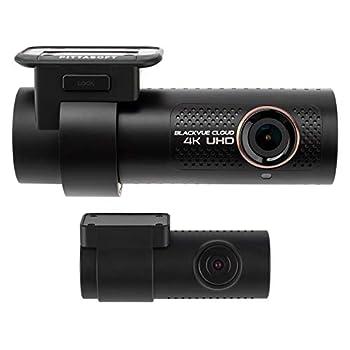 BlackVue DR900X-2CH with 128GB microSD Card | 4K UHD Cloud Dashcam | Built-in Wi-Fi GPS Parking Mode Voltage Monitor | LTE via Optional CM100 LTE Module