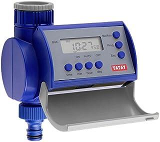 Tatay 45101 Top Line Programador de riego electrónico ABS, Azul y Gris, 11 x 9,7 x 14,5 cm
