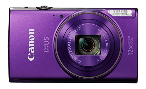 Canon IXUS 285 HS Cámara compacta 20,2 MP 1/2.3' CMOS 5184 x 3888 Pixeles Púrpura - Cámara digital (20,2 MP, 5184 x 3888 Pixeles, CMOS, 12x, Full HD, Púrpura)