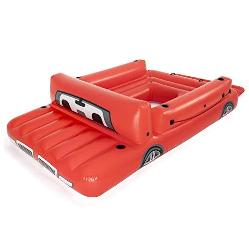 Bestway 43304 Riesen Truck-Schwimminsel 381 x 262 cm, Color