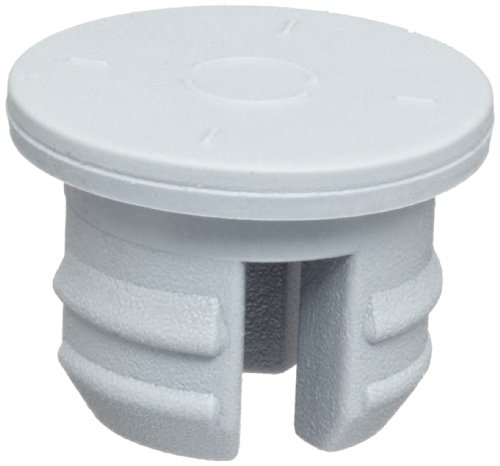 Wheaton 224100-203 Tapón de goma gris para liofilización de 3 patas, clorobutilo/55, 20 mm de diámetro (caja de 300)