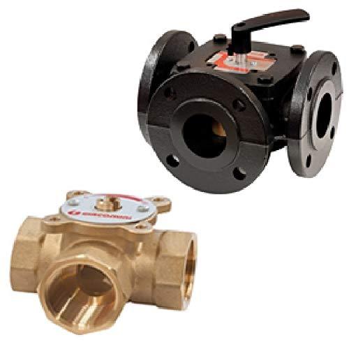 R297 Válvula mezcladora de sector de tres vías R297Y006 1 1/4