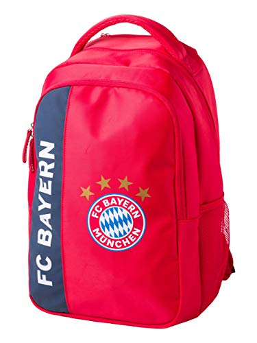 FC Bayern München Rucksack rot mit FCB Logo