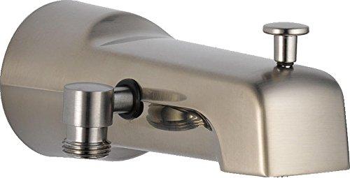 Delta Faucet U1010-SS-PK Universal Showering Components Diverter Tub Spout, Stainless -