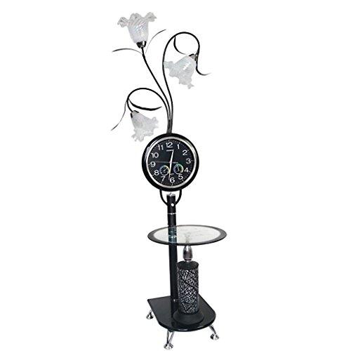 Staande lampen, staande lampen, moderne, eenvoudige klok, staande lamp, bloemtype salontafel, staande lamp, woonkamer, slaapkamer, studie verticale lamp, H170 cm