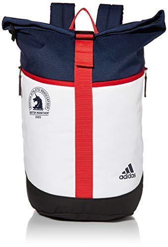 adidas STS Lite Backpack Mochila, Unisex, Azul Marino/Blanco/Carlet, Talla única