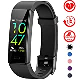 Mgaolo Fitness Tracker with Blood Pressure Heart Rate Sleep Monitor,10 Sport Modes IP68 Waterproof Activity Tracker Fit Smart Watch with Pedometer Calorie Step Counter for Bit Fitbit Women Men Kids