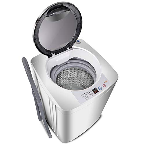 Super Deal Upgraded portable fully automatic washing machine.