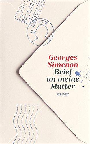 Buchseite und Rezensionen zu 'Brief an meine Mutter (Gatsby)' von Georges Simenon