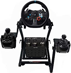 top 10 racing wheel stand Logitech G29 Driving Power Gaming GT Omega Racing Wheelstand for Steering Wheels, Pedal, Gear…