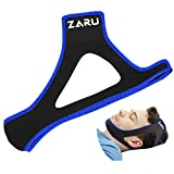 Premium Anti Snore Chin Strap by ZARU [Upgraded Version] - Advanced Snoring Solution Scientifically Designed to Stop Snoring Naturally and Give You The Best Sleep of Your Life.