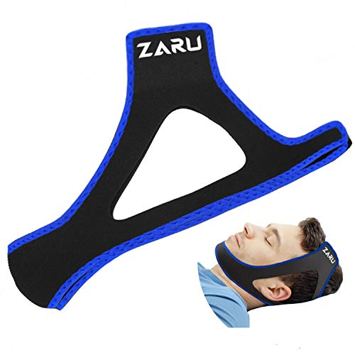 Premium Anti Snore Chin Strap [2021 Upgraded Version] - Advanced Snoring Solution Scientifically Designed to Stop Snoring Naturally and Give You The Best Sleep of Your Life!……