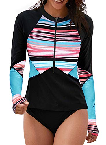 $5.60 Women's Rashguard Swim Top Use promo code:  805IE2CO Works on all options with a quantity limit of 1