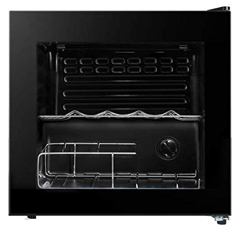 Cookology CWC14BK 14 Bottle wine cooler, under counter design, perfect for fitted kitchens. 48cm wide and 43L of cooling space, cools down to 5oC with interior light.