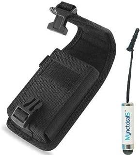 Vertical Rugged Canvas Case Pouch for Kyocera DuraXV LTE, Cadence LTE, DuraXE, Casio G'zOne Ravine 2, Heavy Duty
