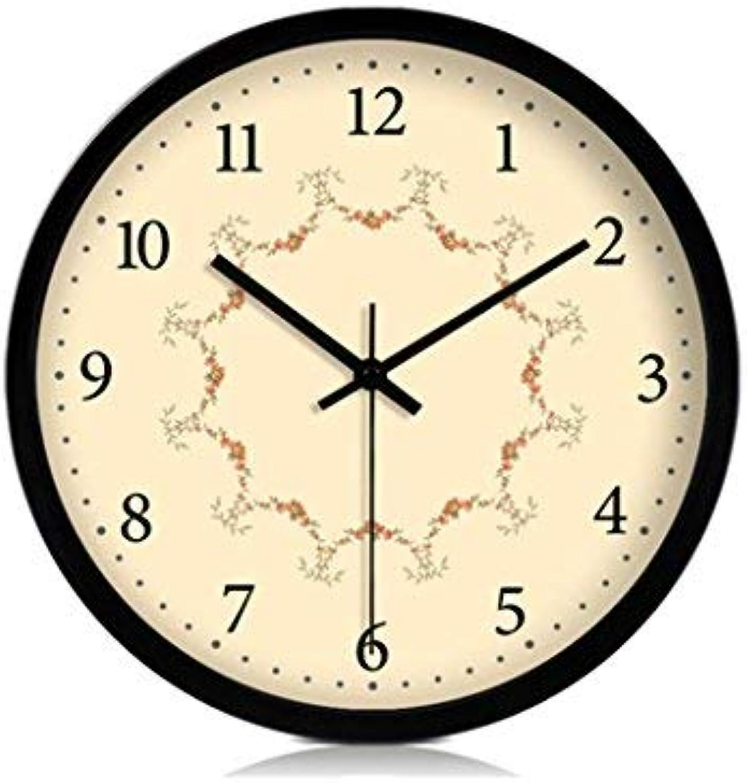 Las ventas en línea ahorran un 70%. ZHAS Sala de Estar Reloj Reloj Reloj de Parojo silencioso, Estudio Aula Dormitorio Sala de Estar Cafetería Tienda de té The Mall Tienda de Ropa Tienda de antigüedades Reloj de Parojo Reloj de Parojo de Met  Entrega directa y rápida de fábrica