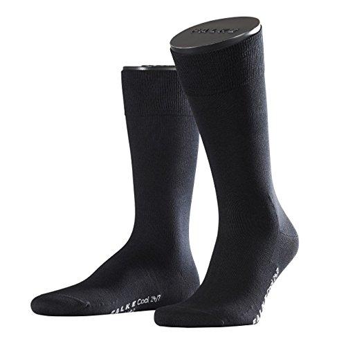 Falke City Herren Socken Cool 24/7 3er Pack, Größe:43/44;Farbe:black (3000)