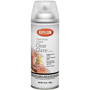 Diversified Brands Kry500 Krylon Triple Thick Glaze Artist Spray 12 Oz.