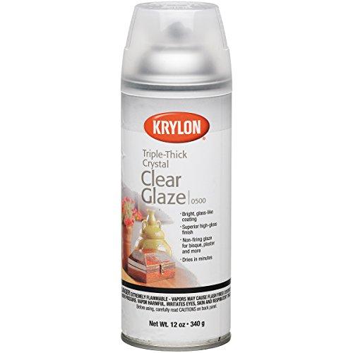 Kry500 Krylon Triple Thick Glaze Artist Spray