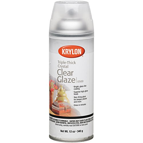 Kry500 Krylon Triple Thick Glaze Artist Spray